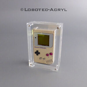 """Nintendo Gameboy®  Classic Case Acrylglas Block """"Classic Star"""""""