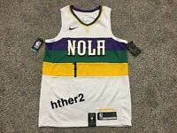 Zion Williamson Nike City Edition Swingman Jersey New Orleans Pelicans IN HAND