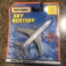 MATCHBOX 2000 SKY BUSTERS COMMERCIAL AND MILITARY AIRCRAFT CONTINENTAL AIRLINES