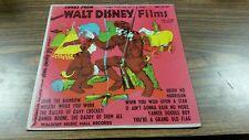 "WALT DISNEY-*SONGS FROM FAMOUS WALT DISNEY FILMS 10""LP RECORD 1955*RARE*MH33137"