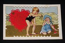 Vintage Valentine Postcard 1930's