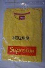 SUPREME Academy Top Yellow M box logo camp cap tnf S/S 14
