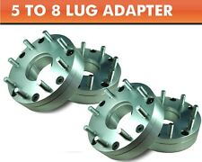 4 Wheel Adapters 5x4.5 to 8x6.5 ¦ RAM 2500 8 Lug Wheels On Explorer Ranger