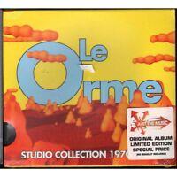 Le Orme CD Studio Collection 1970 1980 Slidecase Nuovo Sigillato 0602498784099