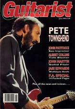 Who Pete Townshend UK 'Guitarist' Interview Clipping OBLIQUE