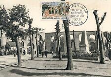 CARTE POSTALE MAXIMUM ALGERIE / MEDEA ANCIENNES PORTES DE LODI 1961