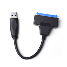 """USB 3.0 to 2.5"""" SATA III Hard Drive Adapter Transfer Cable UASP Converter New"""