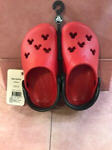 Kids Mickey Crocs