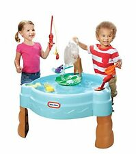 Fish 'n Splash Water Table Little Tikes Kids Play Outdoor Toy Net Toddler New