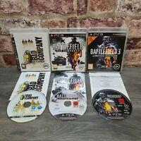 BATTLEFIELD 3 + BAD COMPANY 1 & 2 ** x3 Sony Playstation 3/PS3 FPS War Games