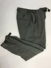 RAIL RIDERS Men's Nylon Hiking Outdoor Green Belted Pants Size LARGE. 04290211