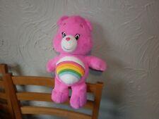 care bear (rainbow) plush 15 inches high good condition