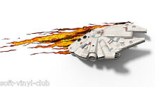 Star Wars 3D LED Leuchte Millennium Falke - 3D LED light  Millenium Falcon