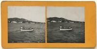 Cannes Pescatori Foto P39L9n1 Stereo Stereoview Vintage Analogica