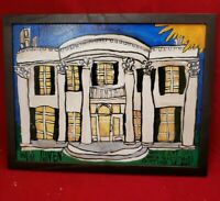 Gay Speirbhain Painting Folk Art Outsider Art Paducah KY White Haven