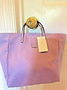 NWT NEW Gucci Girls Micro Guccissima Lavender Purple $450 Tote Bag