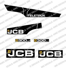 JCB 30D TLT TELETRUK DECAL STICKER SET