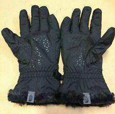 Womens North Face Mossbud Swirl Snow Winter Sport Fleece Insulated Gloves Black
