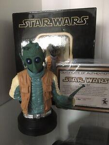 Greedo Gentle Giant Star Wars Mini Bust