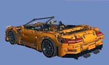 Lego Technic 42056 Carrera 4 Carbiolet Instruction