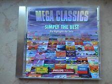 CD Mega Classics - Simply The Best - Die Highlights der Serie