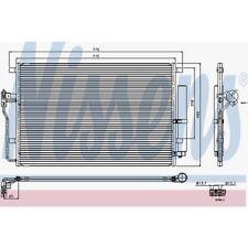 Nissens Kondensator, Klimaanlage Mercedes-Benz Sprinter 3,5-T,Sprinter 94917
