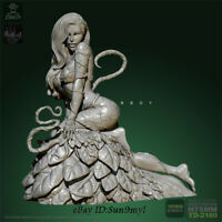 Poison Ivy Unpainted Resin Kits Model GK Figure YuFan 75mm