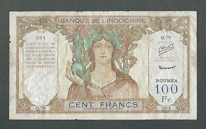 New Caledonia - 100 Francs, 1953