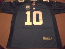 NEW YORK GIANTS ELI MANNING #10 C FULLY STITCHED AUTHENTIC FOOTBALL JERSEY-50