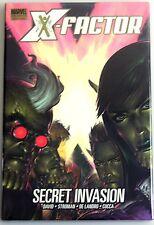 ESZ2546. Marvel Comics X-Factor: Secret Invasion Hardcover Graphic Novel (2009)