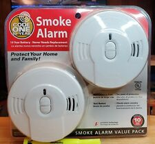 10 year Code One Smoke Alarm Brand New In Package Lot Of 3
