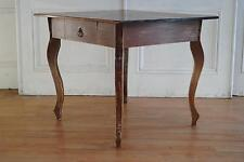 REDUCED French Provincial Style Square Table -Rustic Farmhouse Hamptons Chic