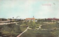 E2/ Phoenix Arizona Az Postcard 1909 U.S. Indian School Building Native Ameican