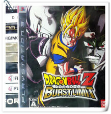 PS3 Dragon Ball Z: Burst Limit SONY Namco Bandai Fighting Games