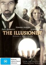 The Illusionist NEW R4 DVD