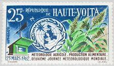 Upper Volta obervolta 1962 99 95 onu omm emblema 2nd met Day mnh
