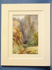 PEAK CAVERN GORGE CASTLETON DERBYSHIRE DISTRICT 10 X 8