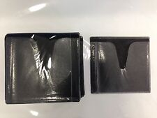 100 BLACK DOUBLE CD DVD BLU RAY VIDEO GAME PLASTIC SLEEVE ENVELOPE HOLD 200