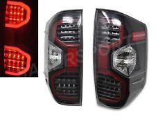 Set of Eagle Eyes V2 Black Housing LED Taillights for 2014-2018 Toyota Tundra