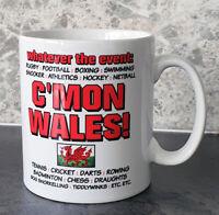 Welsh Mug - C'mon Wales