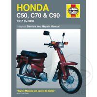 Honda C 90 Cub 1984 Haynes Service Repair Manual 0324