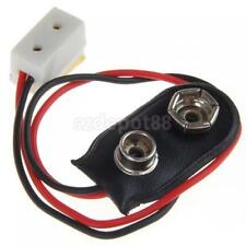 Dollhouse Miniature 9V Battery Connector w/ Wire Single Receptacle for Light