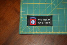 82nd Airborne Division 1968-1969 Vietnam Black Veteran Patch