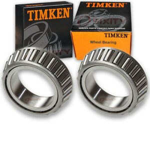 2 pc Timken 14125A Wheel Bearings for 124X15 166463 167480 17674 188301 na