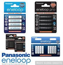 PANASONIC ENELOOP RECHARGEABLE BATTERIES AA AAA PRE-CHARGED 950 2500 1900mAh UK