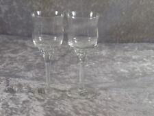 formano Kristallglas 2x Likörglas Sherryglas mundgeblasen 15 cm