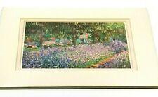 Le Jardin De Monet a Giverny by Claude Monet The Garden Framed Fine Art Print