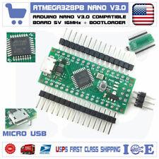 Arduino Nano V3.0 Compatible Board ATmega328PB Board Micro USB ATmega328P USA