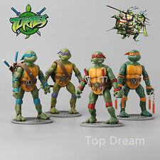 2016 Teenage Mutant Ninja Turtles Movie TMNT Set of 4 Action Figures Toys 17CM