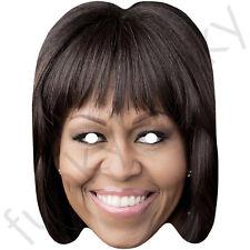 Michelle obama celebrity politicien carte masque-toutes nos masques sont pré-coupé!